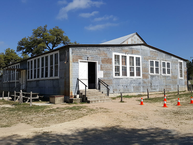 Twin Sisters Dance Hall, Blanco, TX