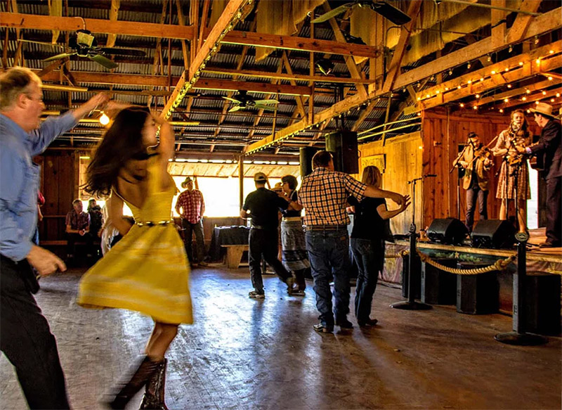 Dancers at Luckenbach Dance Hall - www.hollandphoto.com
